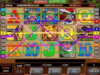 Mega meltdown slot machine online